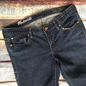 Madewell Rail Straight Jeans 30x28